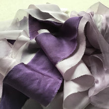Load image into Gallery viewer, Mauve Silk Ribbons: Dark, Medium & Light