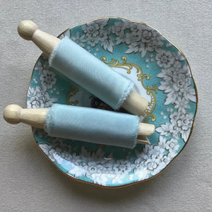 Woad Silk Ribbons