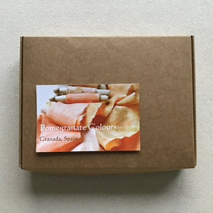 Boxed set of 5 Silk & Silk Chiffon Ribbons