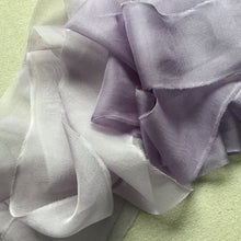 Load image into Gallery viewer, Purple Silk Chiffon: Light and Medium