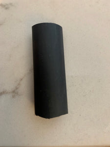 Black 12mm Cable Sleeve - For larger Phone chargers and USB-C
