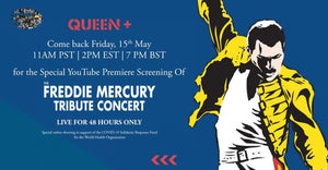 Queen to Stream 1992 Freddie Mercury Tribute for COVID-19 Relief