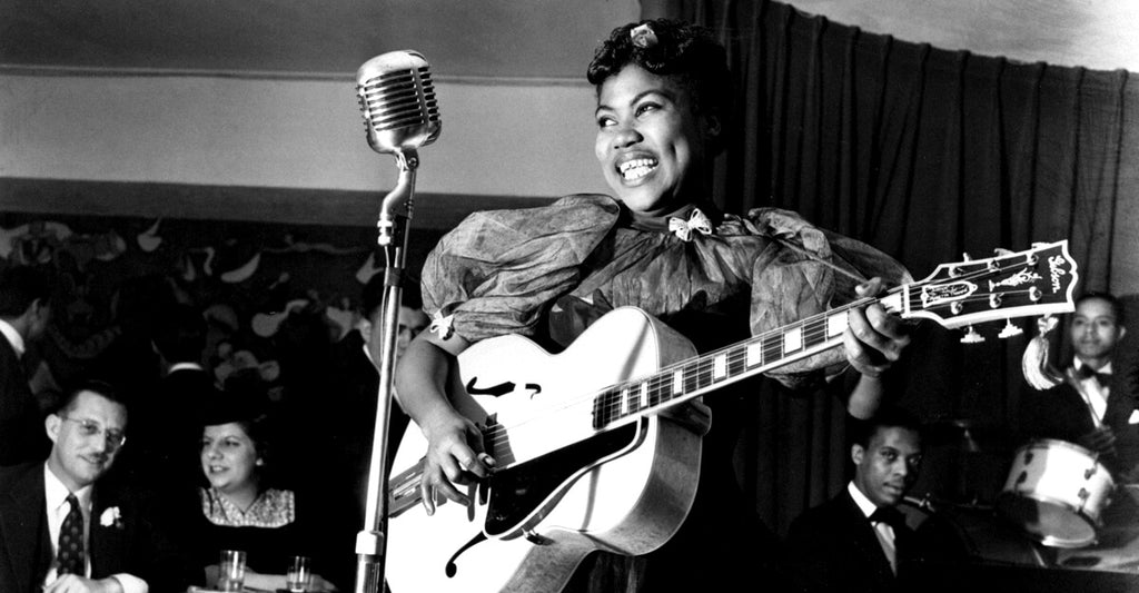 Sister Rosetta Tharpe Takes You Down By the Riverside