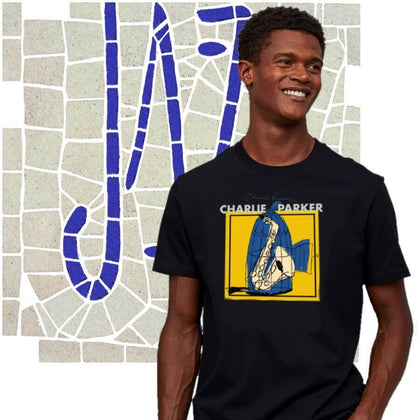Jazz Music Men's T-Shirt Collection. ALTOSAXO Music Apparel Online Shop.
