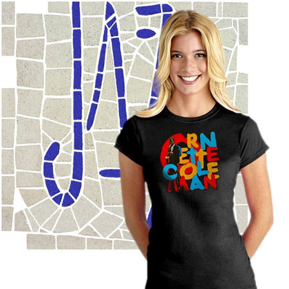 Jazz Music Ladies T-Shirt Collection. ALTOSAXO Music Apparel Online Shop.