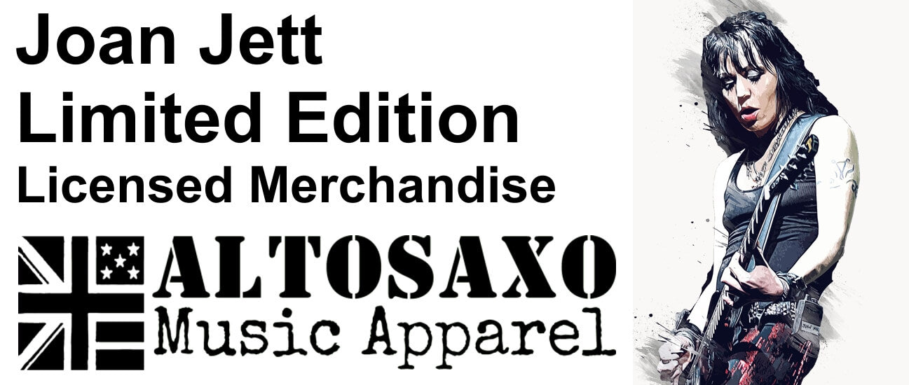 Joan Jett Limited Edition Licensed Merchandise