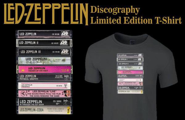 Led Zeppelin Discography T-Shirt