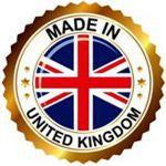 High quality merchandise Made in United Kingdom