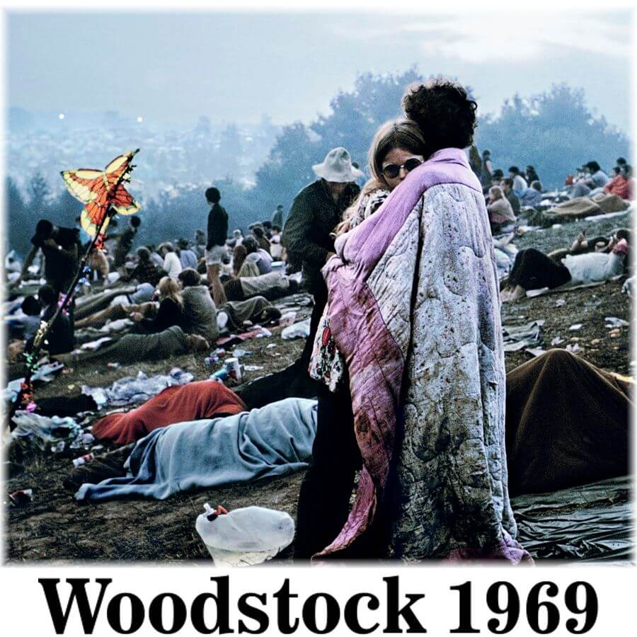 Woodstock 1969 Limited Edition T-Shirt Collection