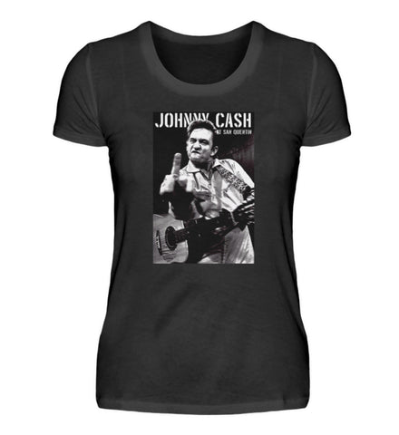 Johnny Cash at San Quentin 1969 Limited Edition T-Shirt Ladies