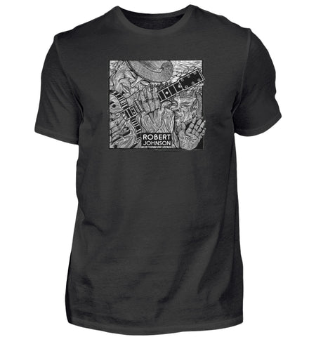 Robert Johnson Devil At The Crossroads T-Shirt Men's