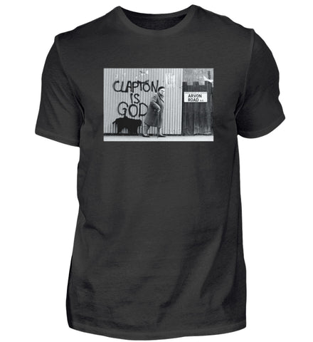 Clapton is God T-Shirt Men's