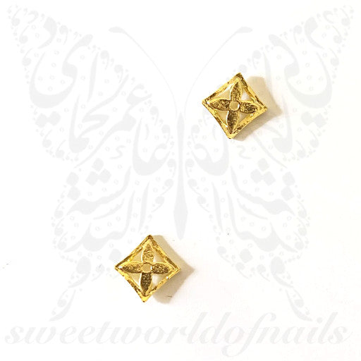 Luxe 3D Nail Art Charms Rhinestones / 2pcs