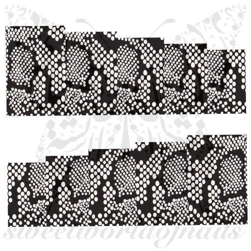 Animal Print Nail Art Snake Skin Nail Full Wraps