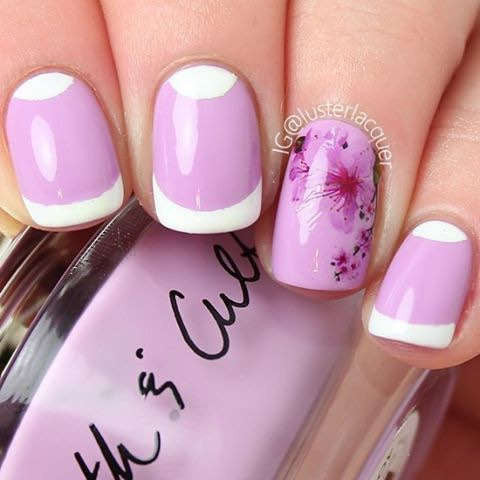 cherry blossoms nail art japanese tree sakura nail water