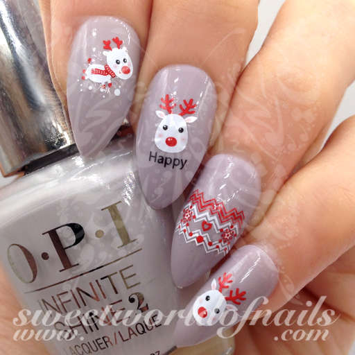 Rudolph The Red Nosed Reindeer Water Decals