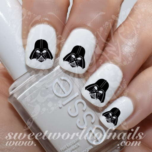 Darth Vader Star Wars Art Nail Water Decals