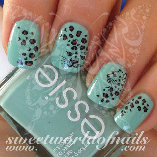 Leopard Nail Art Leopard Print Nail Water Decals Water Slides
