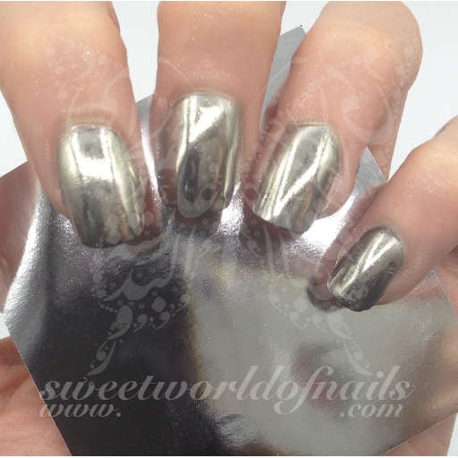 Mirror Powder Silver Pigment Chrome Effect Nail Art Dust-High Quality
