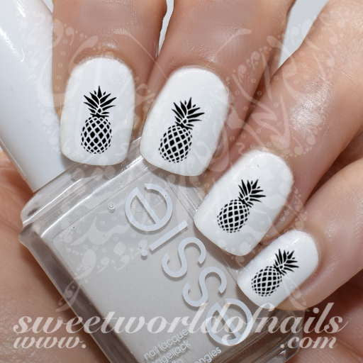 - Pineapple Nail Art Nail Water Decals Transfers Wraps