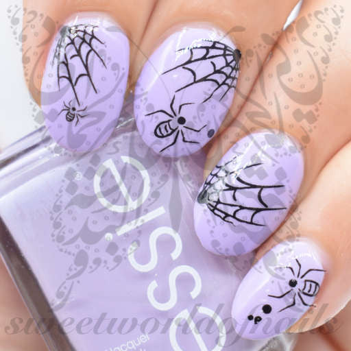 Nail art black spiders spider web nail water decals slides halloween nail art black spiders spider web nail water decals slides prinsesfo Images