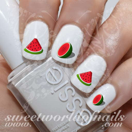 Watermelon Nail Art Nail Water Decals Water Slides