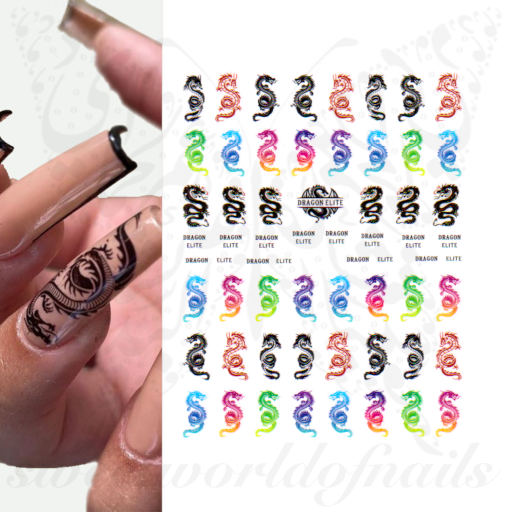 Dragon Nail Art  Nail Stickers