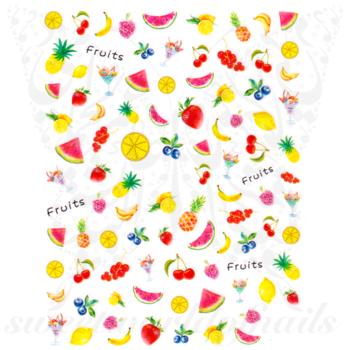 Fruit Nail Art Nail Art Stickers