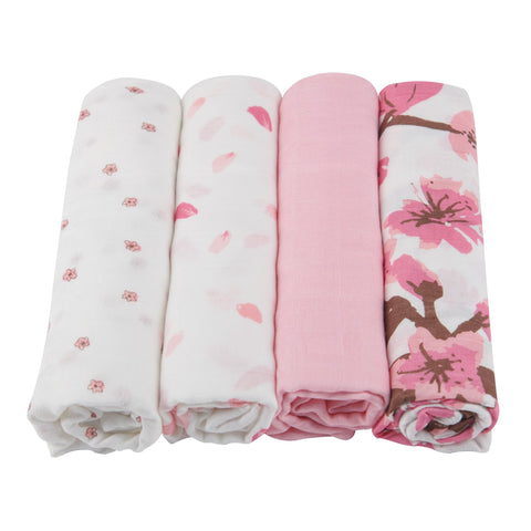 Flower Swaddle 4-Pack