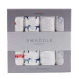 Fire Truck and Dalmatian Swaddle 4-Pack