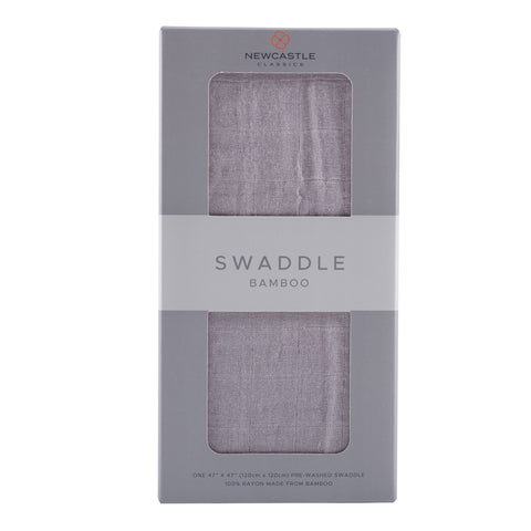 Solid Grey Swaddle