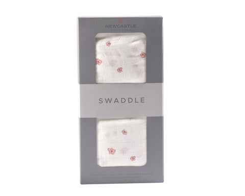 Pink Blossom Swaddle