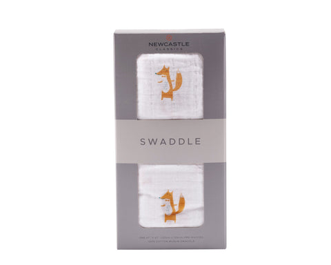 Fancy Fox Swaddle