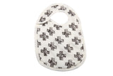 Black and White Bibs Set of 3