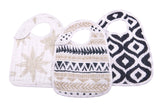 World Wanderer Snap Bibs Set of 3