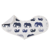 In The Wild Elephant Heart Bibs Set of 2