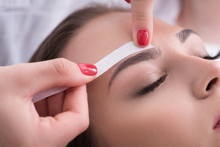 Eyebrow wax and tint course