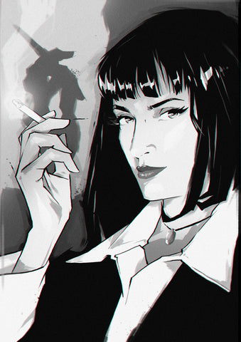 PULP FICTION / SMOKING MIA