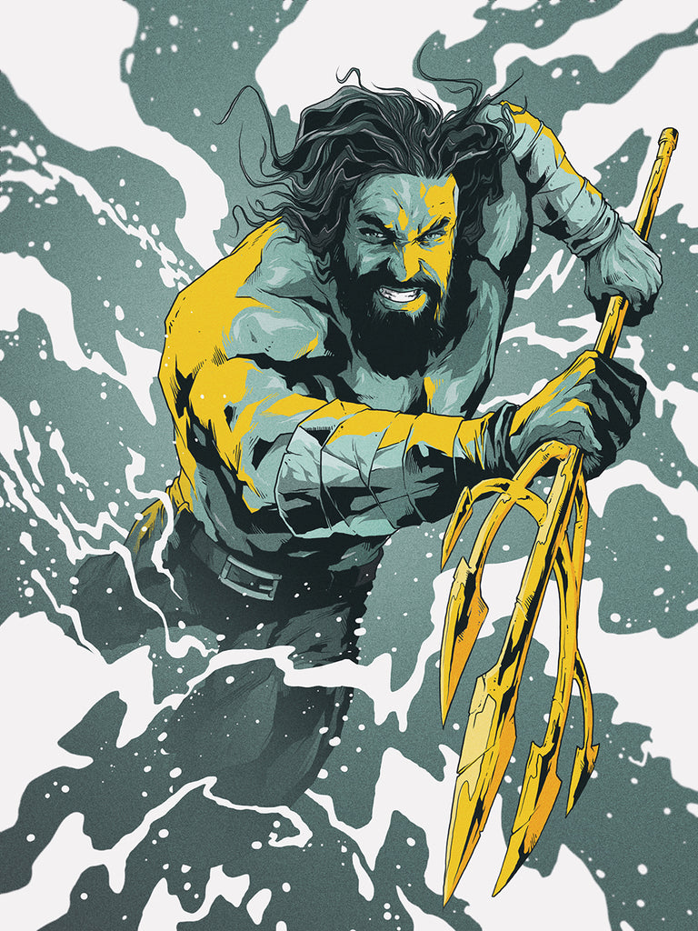 AQUAMAN Fury Art