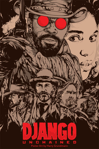 Django Unchained alternative poster art
