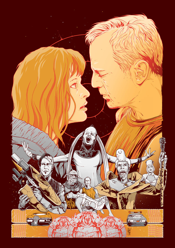 The Fifth Element poster art