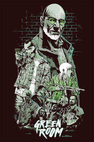 Green Room alternative poster art