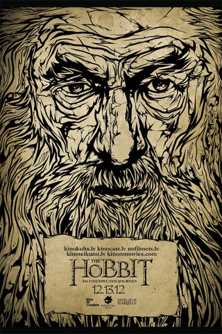 The Hobbit alternative poster art