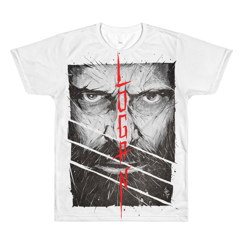 Logan theme LA Apparel All- Over T-Shirt Men