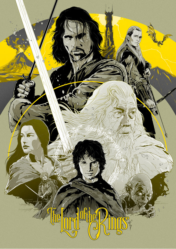 The Lord of the Rings Art