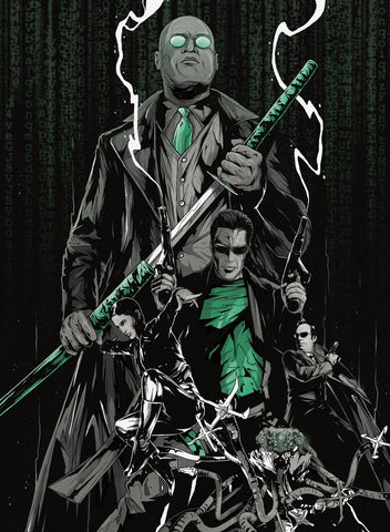 MATRIX Enter the Poster