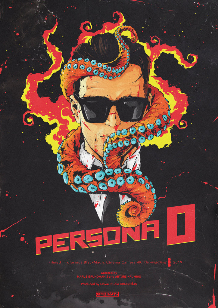 PERSONA 0 official poster