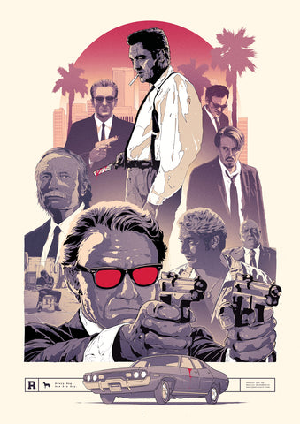 Reservoir Dogs poster art