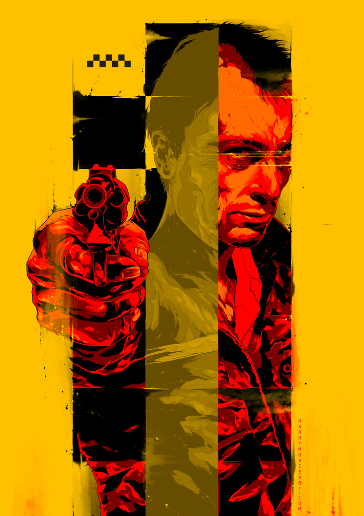 Taxi Driver poster art