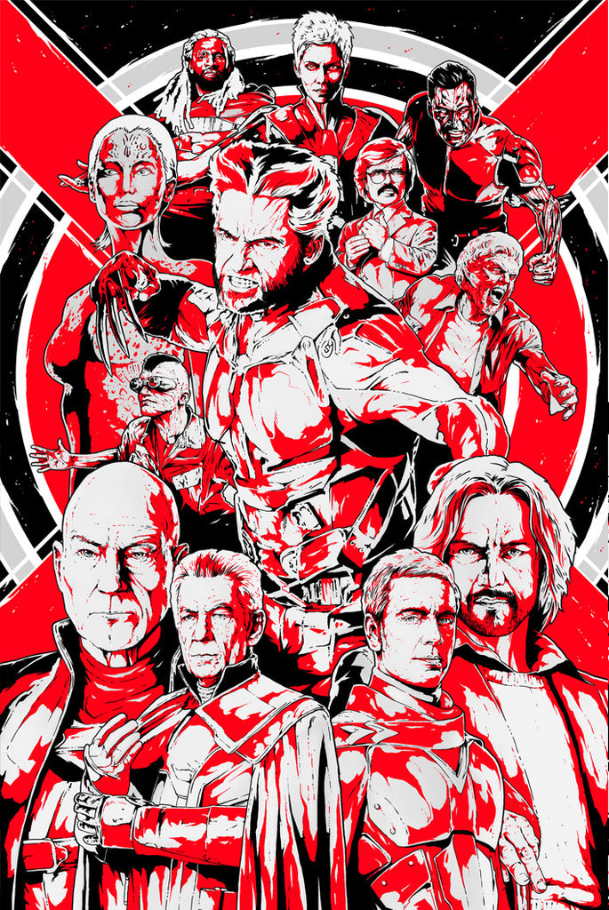 X-Men: Days of Future Past alternative poster art